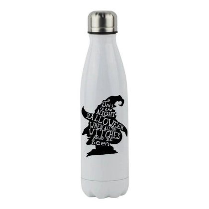 Happy Day Stainless Steel Water Bottle Designed By Pinkanzee