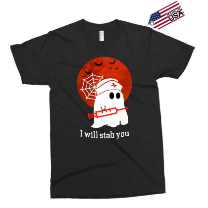 I Will Stab You Exclusive T-shirt Designed By Pinkanzee