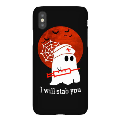 I Will Stab You Iphonex Case Designed By Pinkanzee