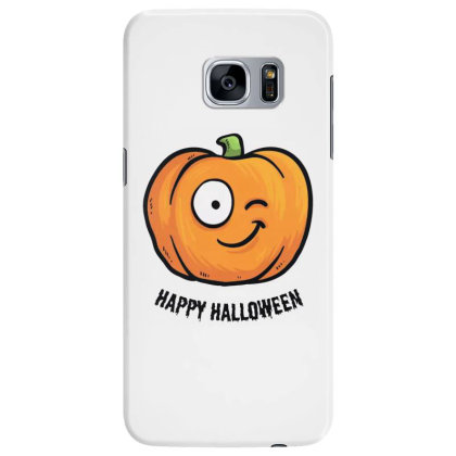 Happy Halloween Samsung Galaxy S7 Edge Case Designed By Pinkanzee
