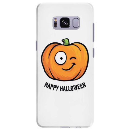 Happy Halloween Samsung Galaxy S8 Plus Case Designed By Pinkanzee