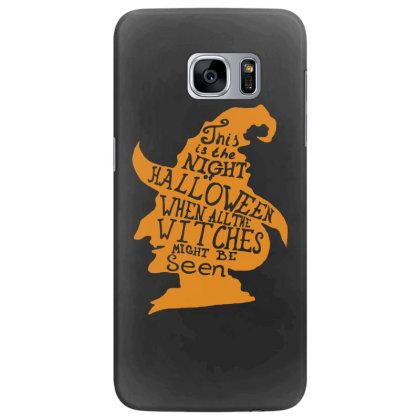 Happy Halloween Day Samsung Galaxy S7 Edge Case Designed By Pinkanzee