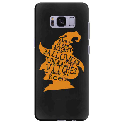 Happy Halloween Day Samsung Galaxy S8 Plus Case Designed By Pinkanzee