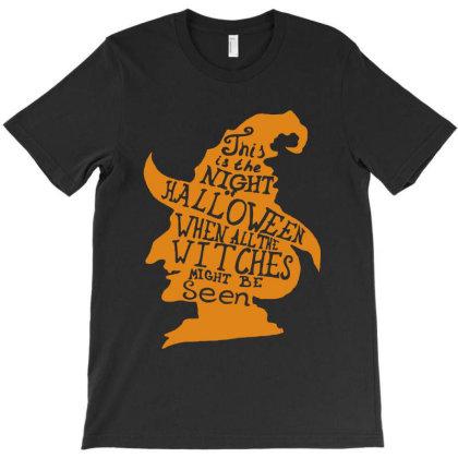 Happy Halloween Day T-shirt Designed By Pinkanzee