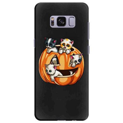 Halloween Cats Samsung Galaxy S8 Plus Case Designed By Pinkanzee