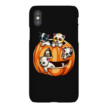 Halloween Cats Iphonex Case Designed By Pinkanzee
