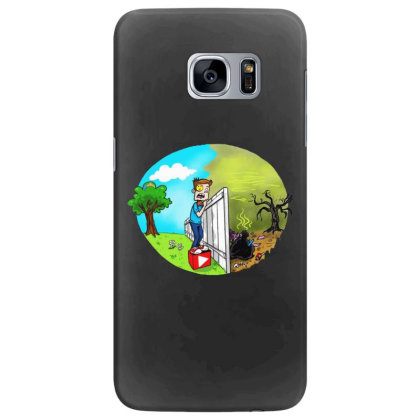The Other Side Samsung Galaxy S7 Edge Case Designed By Pinkanzee