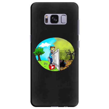 The Other Side Samsung Galaxy S8 Plus Case Designed By Pinkanzee