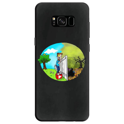 The Other Side Samsung Galaxy S8 Case Designed By Pinkanzee