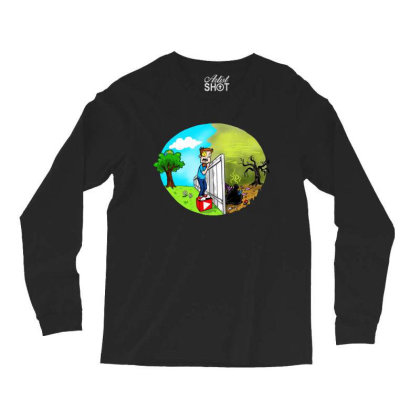 The Other Side Long Sleeve Shirts Designed By Pinkanzee