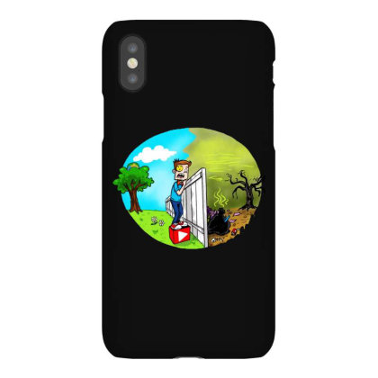 The Other Side Iphonex Case Designed By Pinkanzee