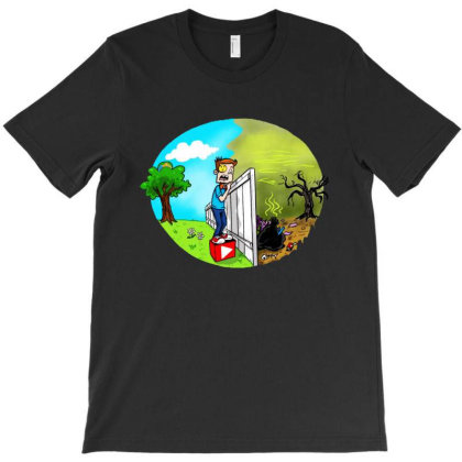 The Other Side T-shirt Designed By Pinkanzee