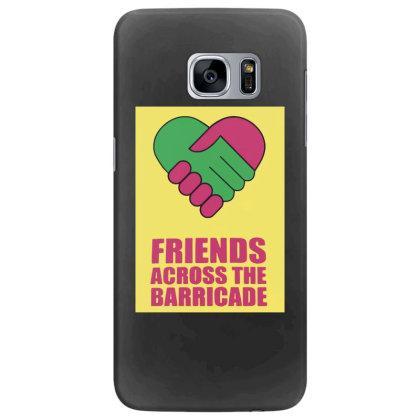 Friends Across Samsung Galaxy S7 Edge Case Designed By Pinkanzee