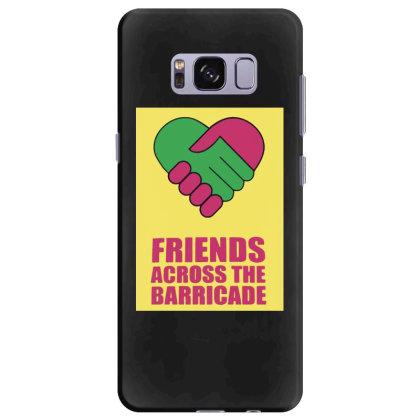 Friends Across Samsung Galaxy S8 Plus Case Designed By Pinkanzee