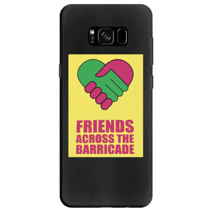 Friends Across Samsung Galaxy S8 Case Designed By Pinkanzee