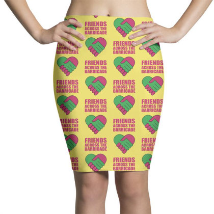 Friends Across Pencil Skirts Designed By Pinkanzee
