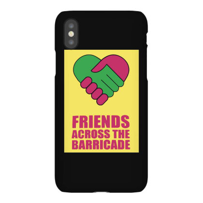 Friends Across Iphonex Case Designed By Pinkanzee