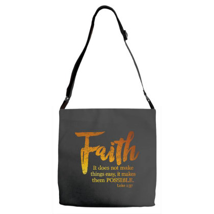 Makes Things Possible Luke Adjustable Strap Totes Designed By Pinkanzee