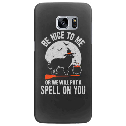 Dog Spell On You Samsung Galaxy S7 Edge Case Designed By Pinkanzee