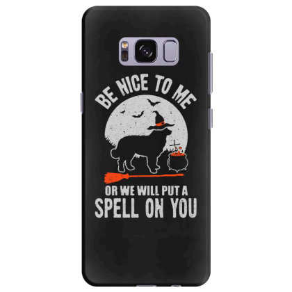 Dog Spell On You Samsung Galaxy S8 Plus Case Designed By Pinkanzee