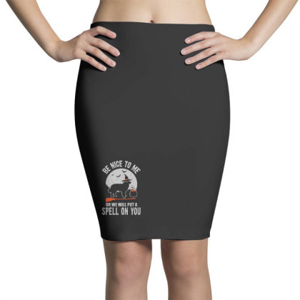Dog Spell On You Pencil Skirts Designed By Pinkanzee