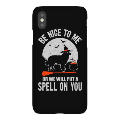 Dog Spell On You Iphonex Case Designed By Pinkanzee