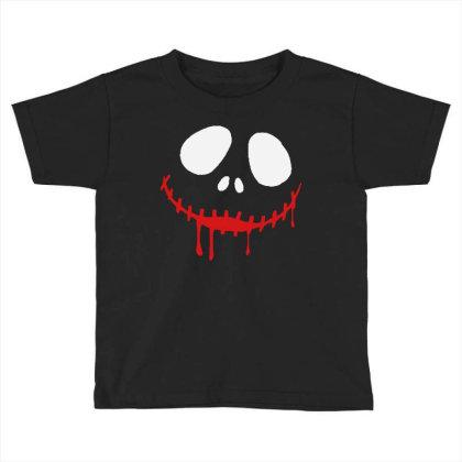 Bad Clown Horror Toddler T-shirt Designed By Pinkanzee