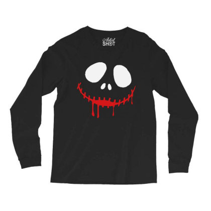 Bad Clown Horror Long Sleeve Shirts Designed By Pinkanzee