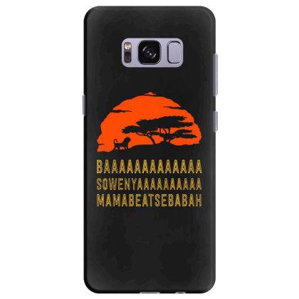 Baaaaaaaaaaaaa Samsung Galaxy S8 Plus Case Designed By Pinkanzee