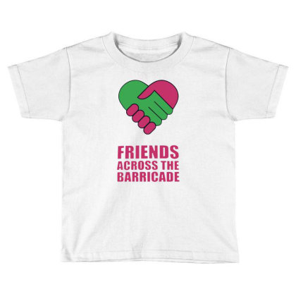 Awesome Friends Across Toddler T-shirt Designed By Pinkanzee