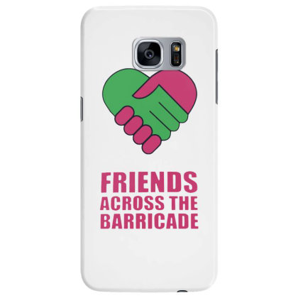 Awesome Friends Across Samsung Galaxy S7 Edge Case Designed By Pinkanzee