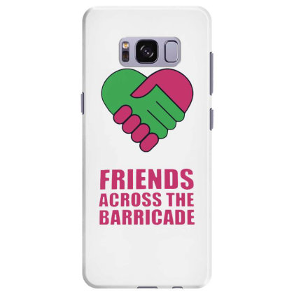 Awesome Friends Across Samsung Galaxy S8 Plus Case Designed By Pinkanzee