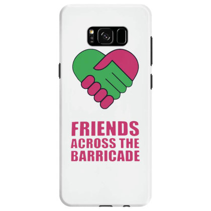 Awesome Friends Across Samsung Galaxy S8 Case Designed By Pinkanzee