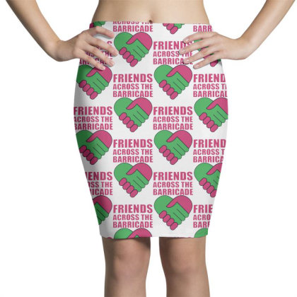 Awesome Friends Across Pencil Skirts Designed By Pinkanzee