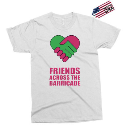 Awesome Friends Across Exclusive T-shirt Designed By Pinkanzee
