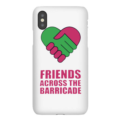 Awesome Friends Across Iphonex Case Designed By Pinkanzee