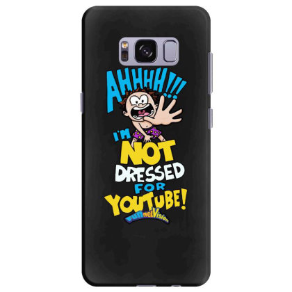 Ahh! Not Dressed For Youtube Samsung Galaxy S8 Plus Case Designed By Pinkanzee