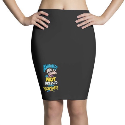 Ahh! Not Dressed For Youtube Pencil Skirts Designed By Pinkanzee
