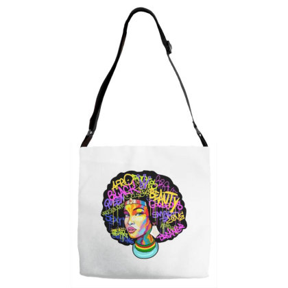 Woman Hair Adjustable Strap Totes Designed By Pinkanzee
