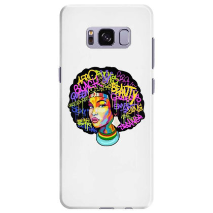 Woman Hair Samsung Galaxy S8 Plus Case Designed By Pinkanzee
