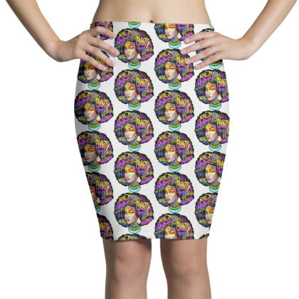 Woman Hair Pencil Skirts Designed By Pinkanzee