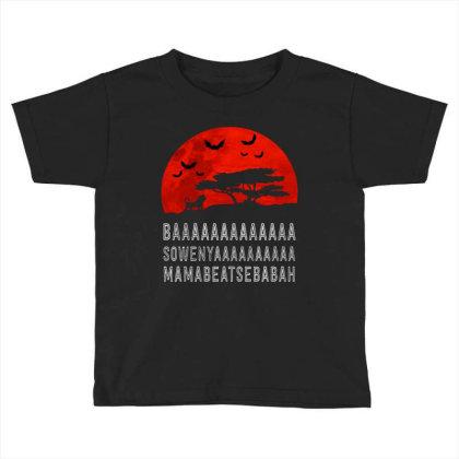 Baaaaaaaaaaaaa Toddler T-shirt Designed By Pinkanzee