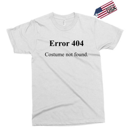 404 Costume Not Found Exclusive T-shirt Designed By Pinkanzee