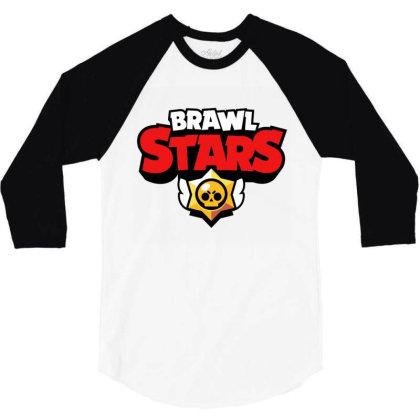 Brawl Stars 3/4 Sleeve Shirt Designed By Roxanne