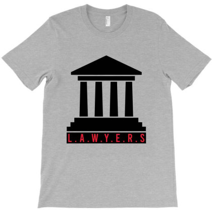 Lawyers Court T-shirt Designed By Cypryanus
