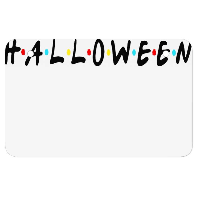 Halloween For Light Atv License Plate | Artistshot