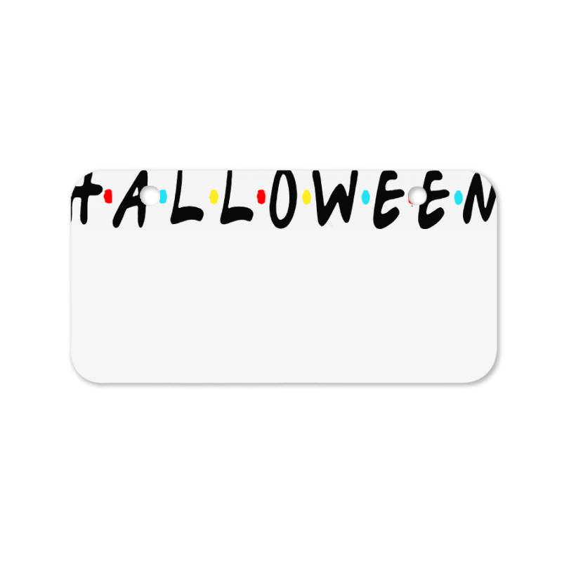 Halloween For Light Bicycle License Plate | Artistshot