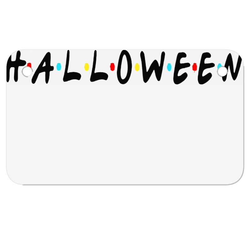 Halloween For Light Motorcycle License Plate | Artistshot