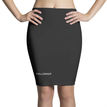 Halloween For Dark Pencil Skirts Designed By Pinkanzee