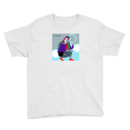 Trendy Girl Youth Tee Designed By Manorma